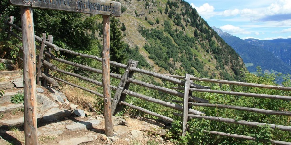 Merano High Mountain Trail - 1 stage Alta Muta (Hochmuth) - Giggelberg