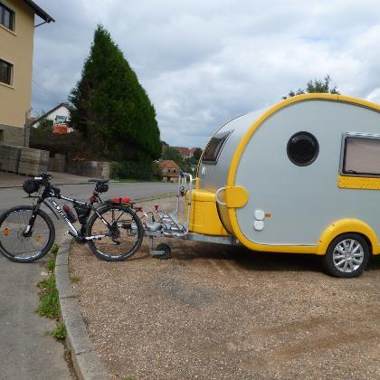 Ausrüstung für mehrtägige Radtour
