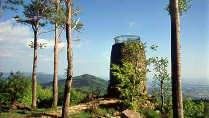 Aussichtsturm am Hirschenstein