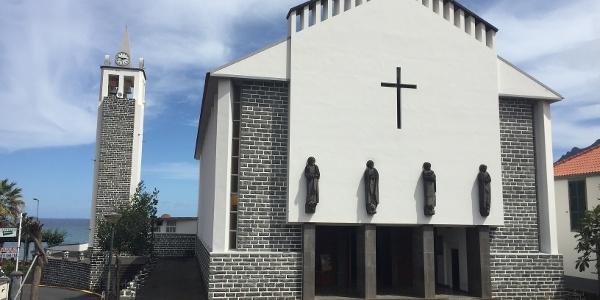 Die Kirche in Porto da Cruz