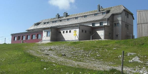 Start beim Karl-Ludwig-Haus, 1804m (19.06.2012)