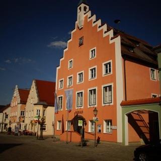 Marktplatz in Langquaid