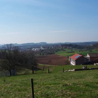 Das Hügelland des Aalener Albtraufs Nahe Röthard