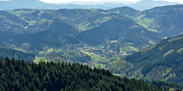 Ausblick von Hohenstein