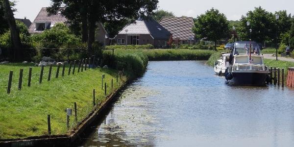 Kanal in eemsmond