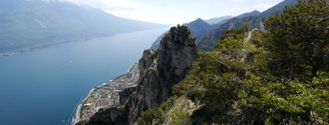 Blick auf Limone sul Garda