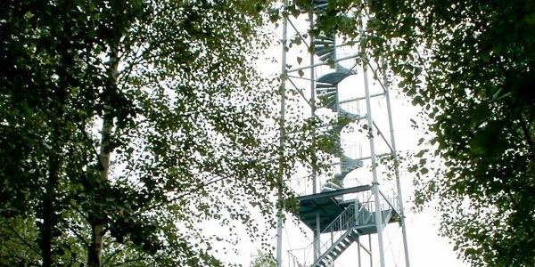 Rötha - Aussichtsturm Halde Trages