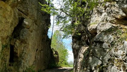 römischer Felsdurchschlag bei der Chäppeliflue (Hauenstein)