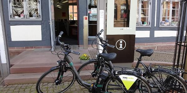 E-bike-Verleih der Tourisinformation Uslar