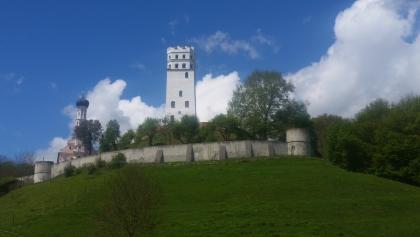 Schloss von Markt oberhalb der Schmutter