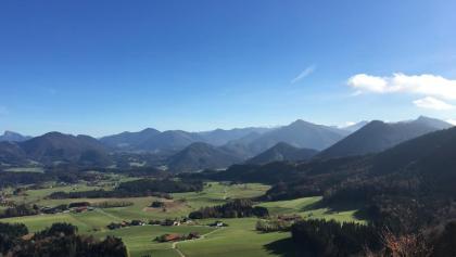 Blick Richtung Salzkammergut