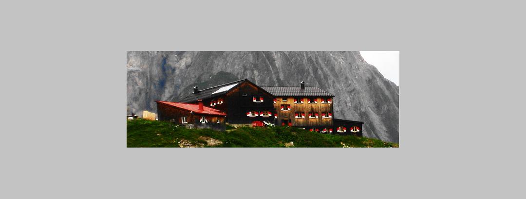Memminger Hütte im Lechtal