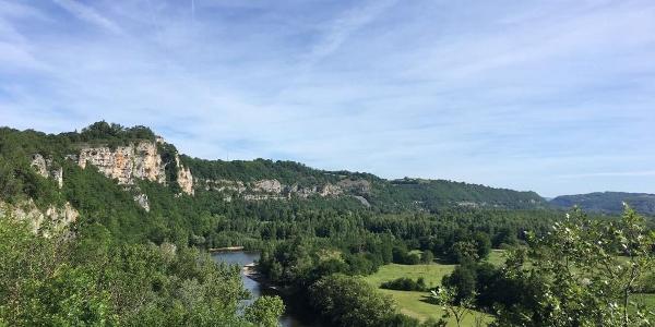 View from Belvedere de Copeyre