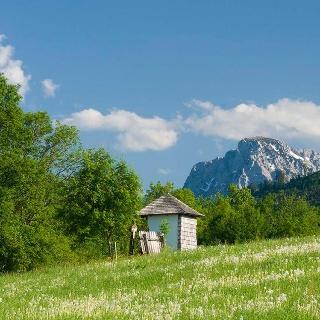Salzburgblick Weg Teisendorf © RoHa Fotothek