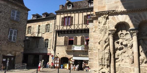 Medieval square, Beauliue-sur-Dordogne