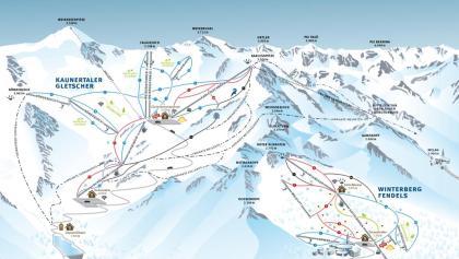 Panorama Kaunertaler Gletscher