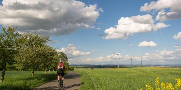 """Rad- und Wanderweg """"Hohe Straße"""""""