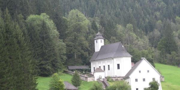 Pfarrkirche in Johnsbach  (12.09.2012)