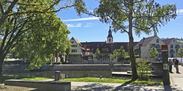 Kleb Nagold mit Blick auf die Innenstadt