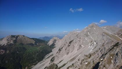 Blick Richtung Hochstuhl rechts, links im Hintergrund Kosiak