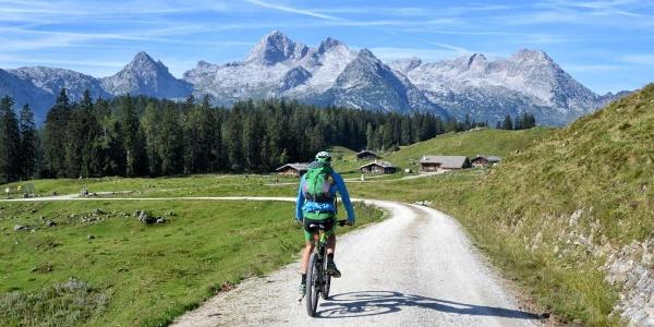 Mit dem Mountainbike zur Kallbrunnalm