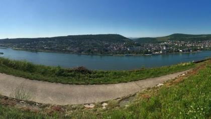 Panorama auf Bingen