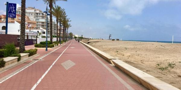 Playa del Norte de Peñiscola