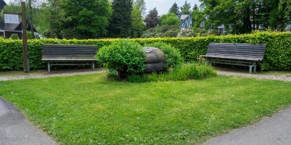 Gedenkstein 250 Jahre Jagdhaus