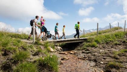 Wanderung auf dem Alpenflora-Erlebnispfad
