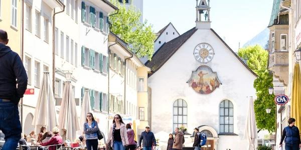 Marktgasse Feldkirch @MATTHIAS RHOMBERG