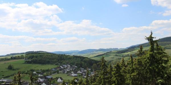 Panoramablick auf Dreislar