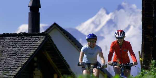 Cycling in Fieschertal