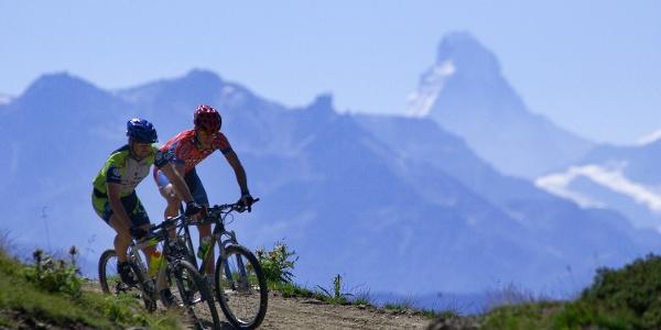 Mountainbiking auf der Martisberg-Runde