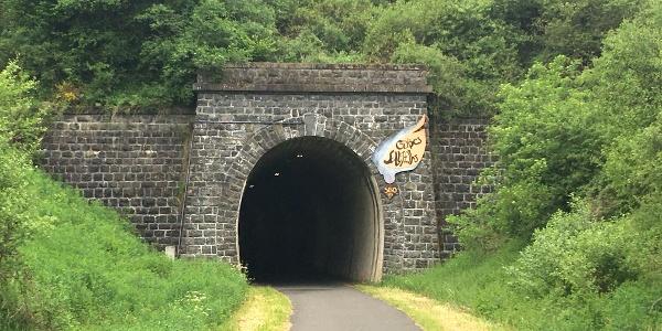 Eingang zum Tunnel