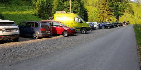 Parkplatz Bosruckhütte