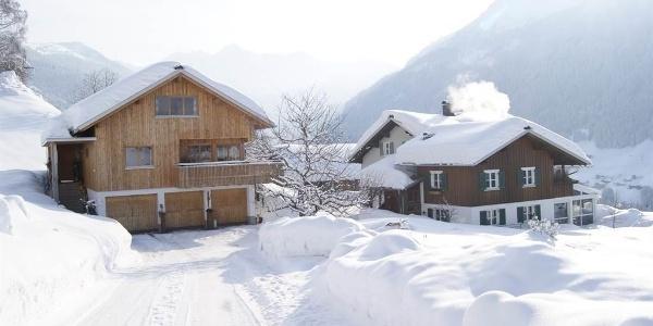 Winter Ansicht Westen