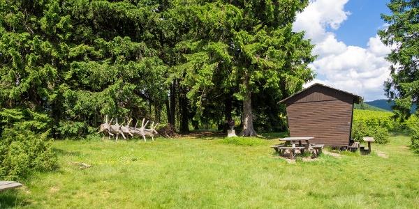Rastplatz am Naturschutzgebiet Rehhecke