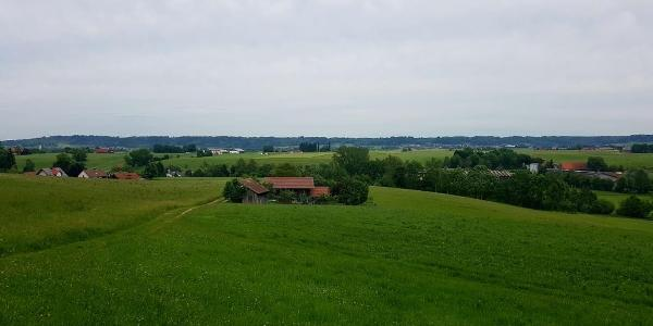 Allgäuer Panorama bei Zell