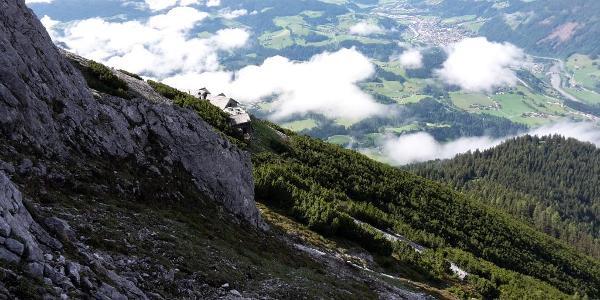 Blick von der Route H - I