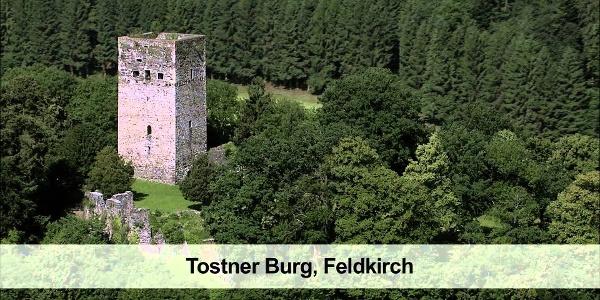 Feldkirch, Burgruine Tosters