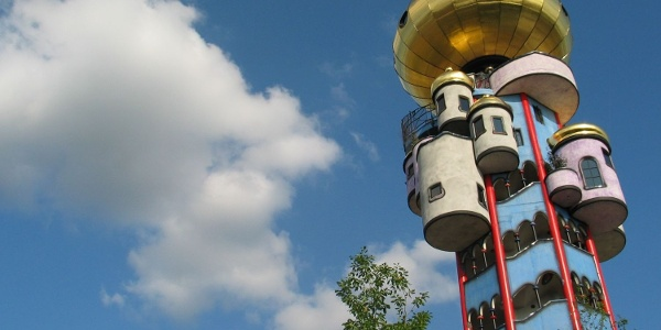 Kuchlbauer Turm in Abensberg