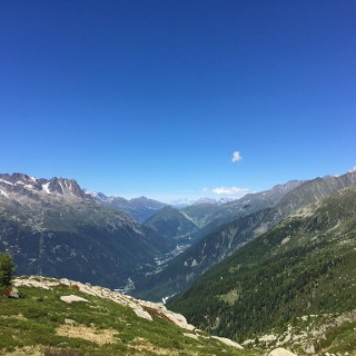 Views from the Plan d'Aiguilles