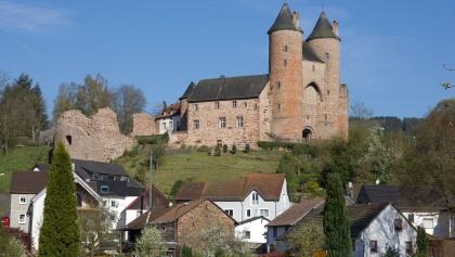 Mürlenbach, Bertradaburg
