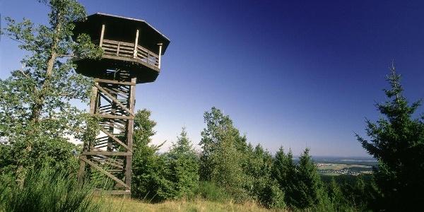 Heidkopfturm oberhalb von Hallenberg
