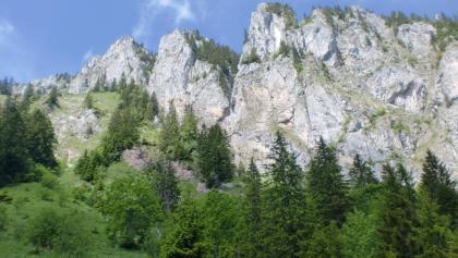 Der Mont Ouzon ( Nordostseite )