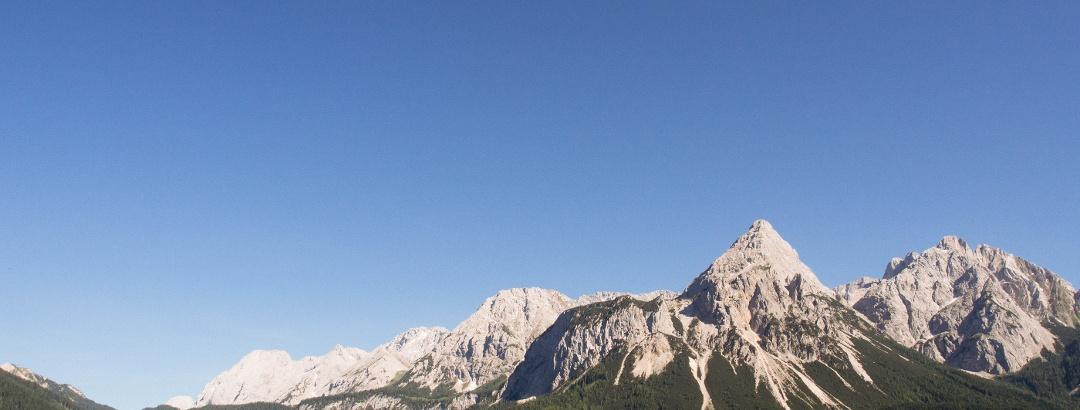 Das Ziel des heutigen Tages: Die Ehrwalder Sonnenspitze