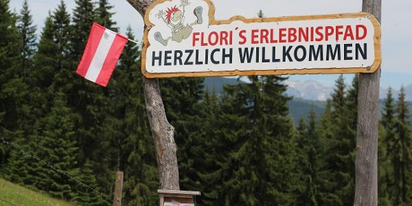 Start Flori's Erlebnispfad