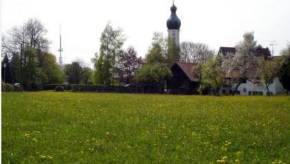 Schleifenroute - Blick auf Geltendorf