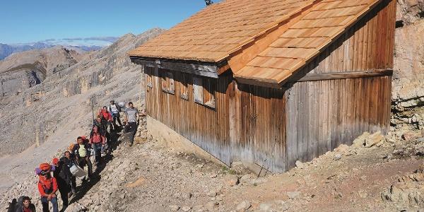Das Friedensbiwak am Monte Castello