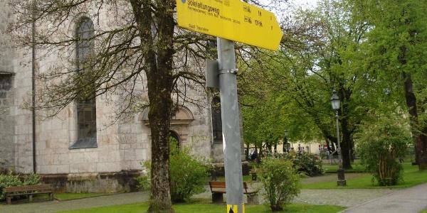 Start in Traunstein